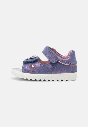 Sandalias - blau/rosa
