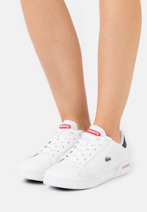 TWIN SERVE - Sneakers laag - white/navy/red