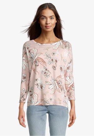 MIT BLUMENPRINT - Pullover - rose/cream