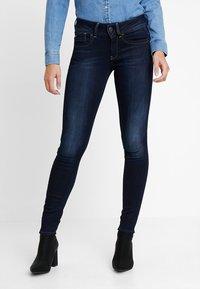 G-Star - LYNN MID - Jeans Skinny Fit - faded blue - 0