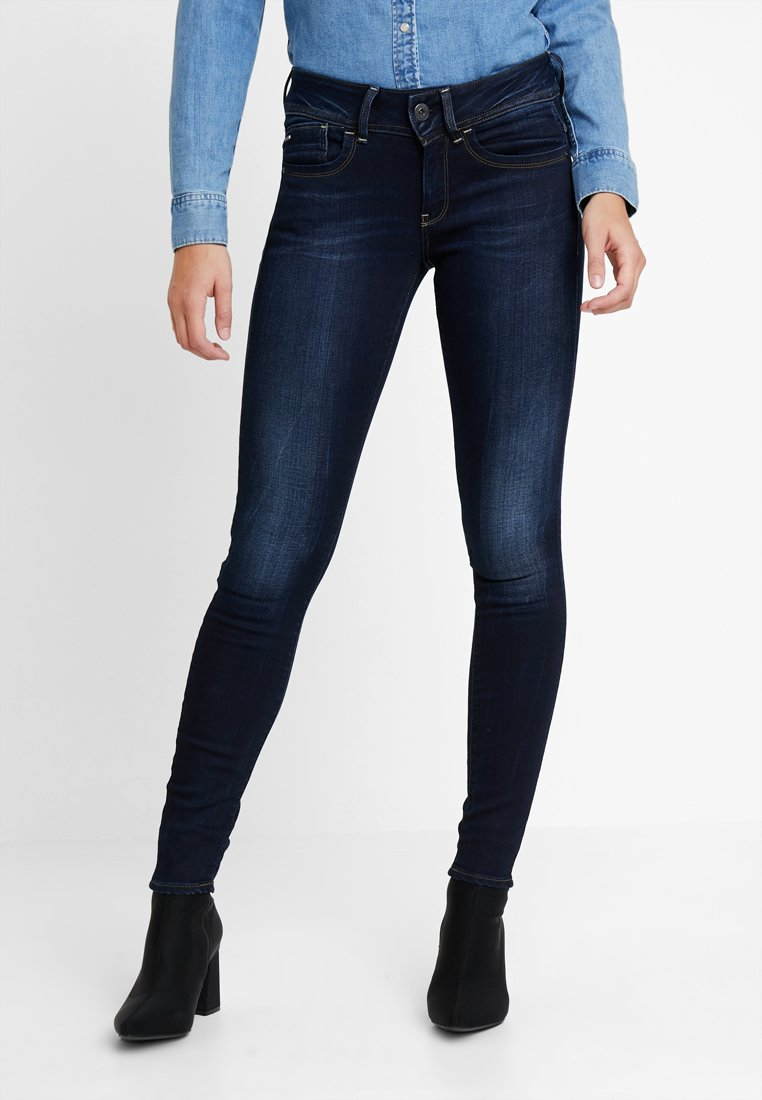 G-Star - LYNN MID - Jeans Skinny Fit - faded blue