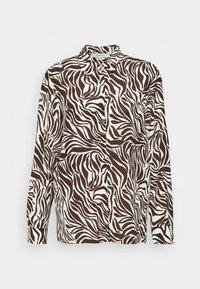 IORGO - Button-down blouse - marrone