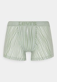 Levi's® - MEN VERTICAL STRIPE BRIEF 2 PACK - Pants - green - 1