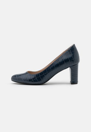 DENVER ALMOND TOE COURT - Avokkaat - navy