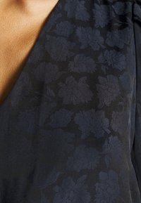 Banana Republic - PUFF JAQUARD MIDI - Day dress - black - 6