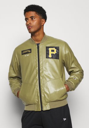 MLB PREMIUM PITTSBURGH PIRATES JACKET - Squadra - mottled olive