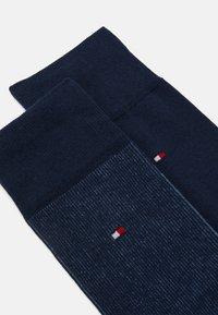 Tommy Hilfiger - MEN SOCK 2 PACK - Ponožky - navy - 1
