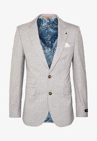 STRIPE - Suit jacket - grey