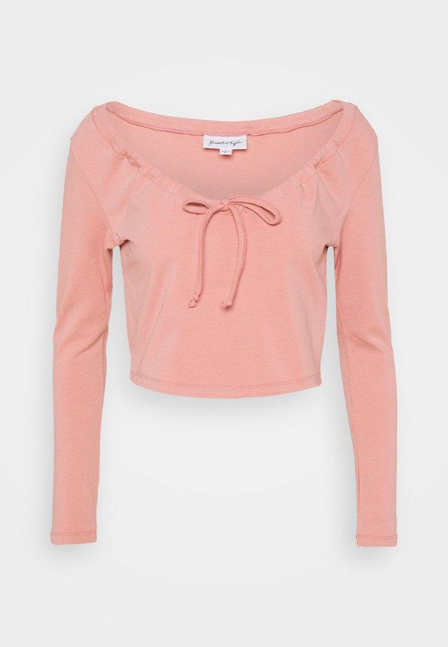 LONGSLEEVE TIE  - Longsleeve - light pink