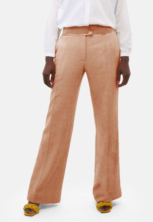 MARLENE  - Trousers - brown