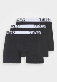 Pier One - 3 PACK - Panties - black - 2