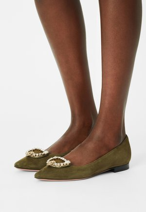 ILARY - Ballet pumps - gold/cry