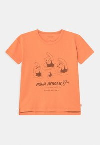 TINYCOTTONS - AQUA AEROBICS UNISEX - Print T-shirt - coral - 0