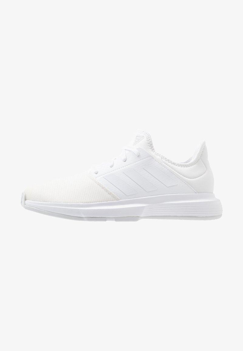 adidas Performance - GAMECOURT - Kengät kaikille alustoille - footwear white/grey