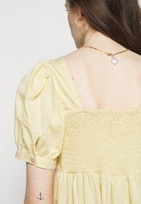 Faithfull the brand - AYLAH MIDI DRESS - Day dress - plain banana - 5