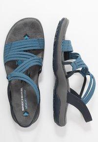 Skechers - REGGAE SLIM - Walking sandals - navy - 3