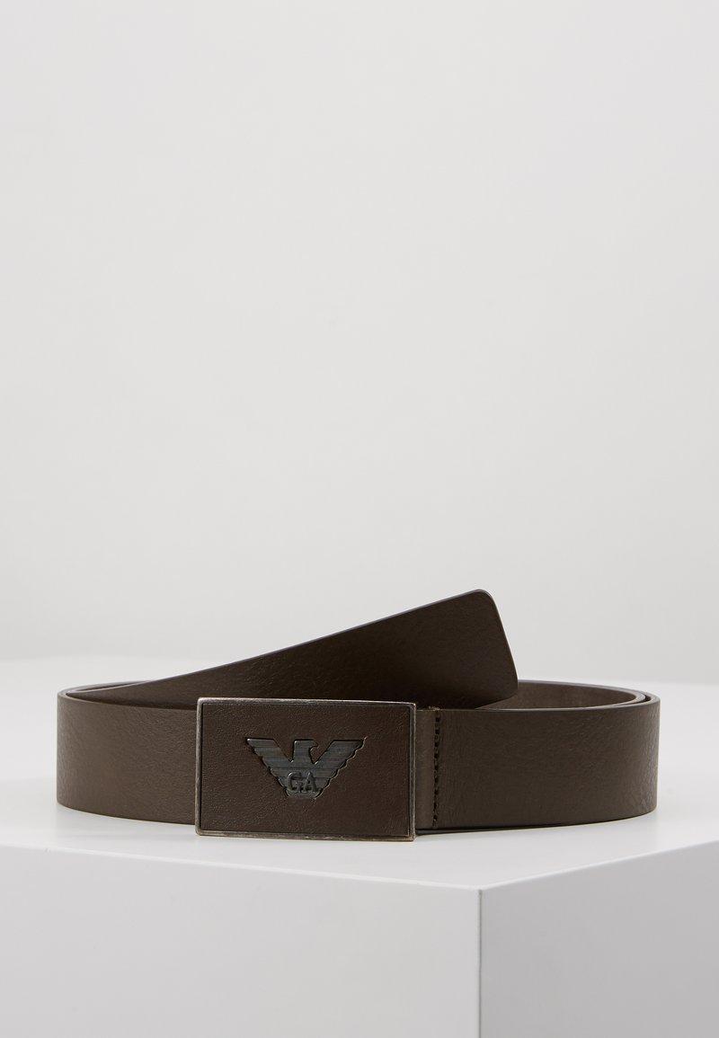 Emporio Armani - CINTURA - Cintura - grigio