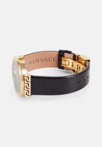 Versace Watches - GRECA MOTIV - Zegarek - black - 2