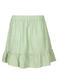 Zizzi - A-line skirt - silt green - 5