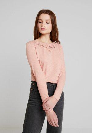 ELLIS - Long sleeved top - vintage blush