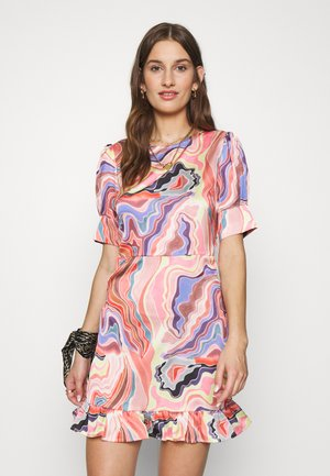 MELODI DRESS - Cocktailjurk - multi coloured
