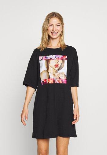 Basic oversized T-Shirt Dress