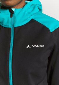 Vaude - WOMENS QIMSA JACKET - Soft shell jacket - black - 5