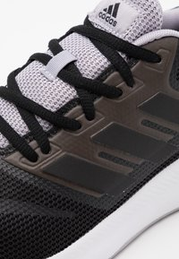 adidas Performance - RUNFALCON CLASSIC SPORTS RUNNING SHOES - Neutral running shoes - core black/glow grey - 5
