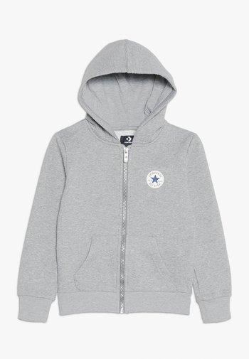CHUCK PATCH FULL ZIP HOODIE  - Zip-up sweatshirt - dark grey heather
