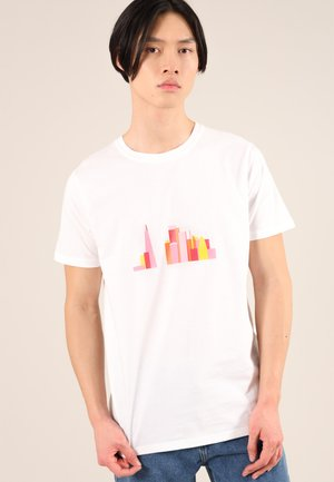 LONDON SKY - T-shirt con stampa - white