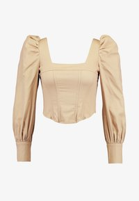 Missguided - CORSET STYLE - Bluse - sand - 3