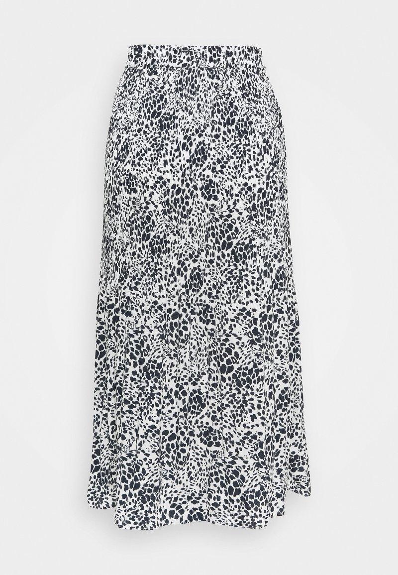 Marks & Spencer London - PLISSE MIDI - Áčková sukně - multi coloured