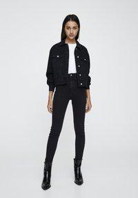 PULL&BEAR - Jeans Skinny - black - 1