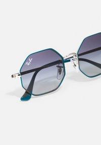 Ray-Ban - JUNIOR SUNGLASS UNISEX - Sunglasses - silver-coloured/turquoise - 4