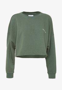 A CROPPED OVERSIZED SWEATER - Sweatshirt - gumnut