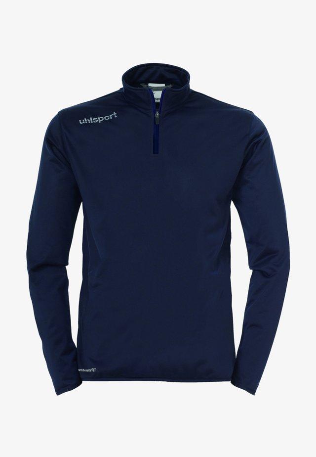 Sweatshirt - marine / weiß