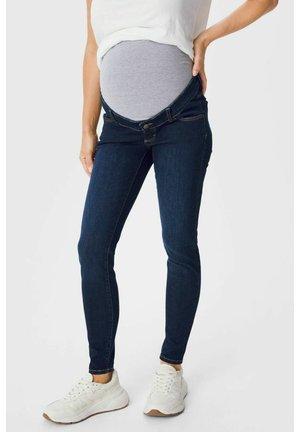 Spodnie materiałowe - denim-dark blue