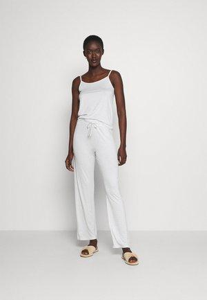 ONLKIRI STRAP NIGHTWEAR SET - Pyjamas - white/blue