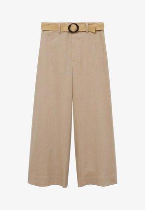 CEL - Trousers - gris clair/pastel