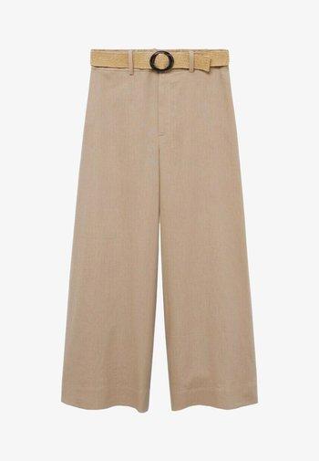 CEL - Pantalones - gris clair/pastel