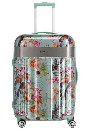 SPOTLIGHT FLASH - Wheeled suitcase - mint blossom