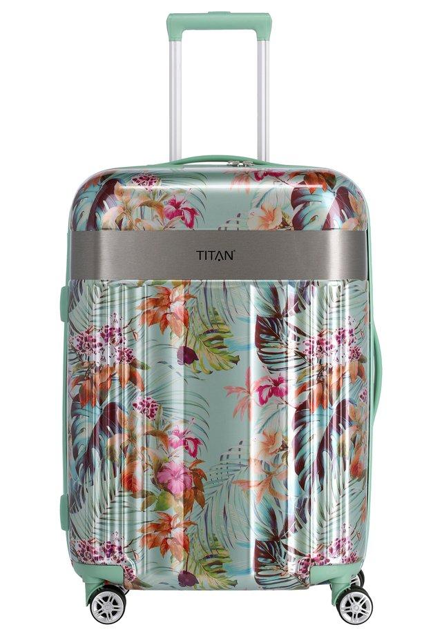 SPOTLIGHT FLASH - Wheeled suitcase - mint blossom