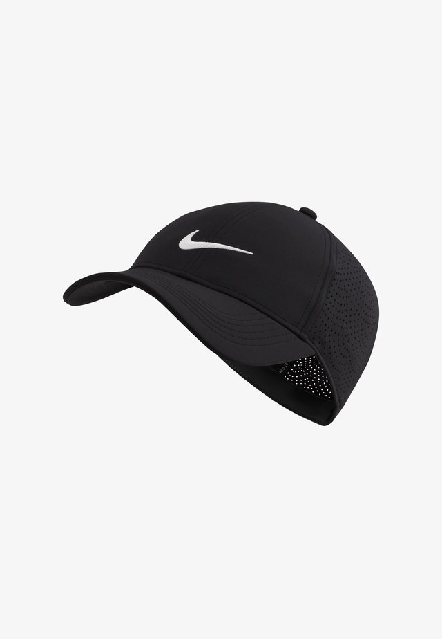 AROBILL - Cap - black/anthracite/white
