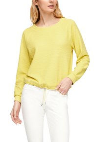 s.Oliver - Long sleeved top - light yellow - 5