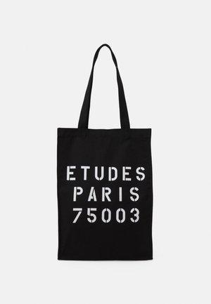 NOVEMBER STENCIL UNISEX - Tote bag - black