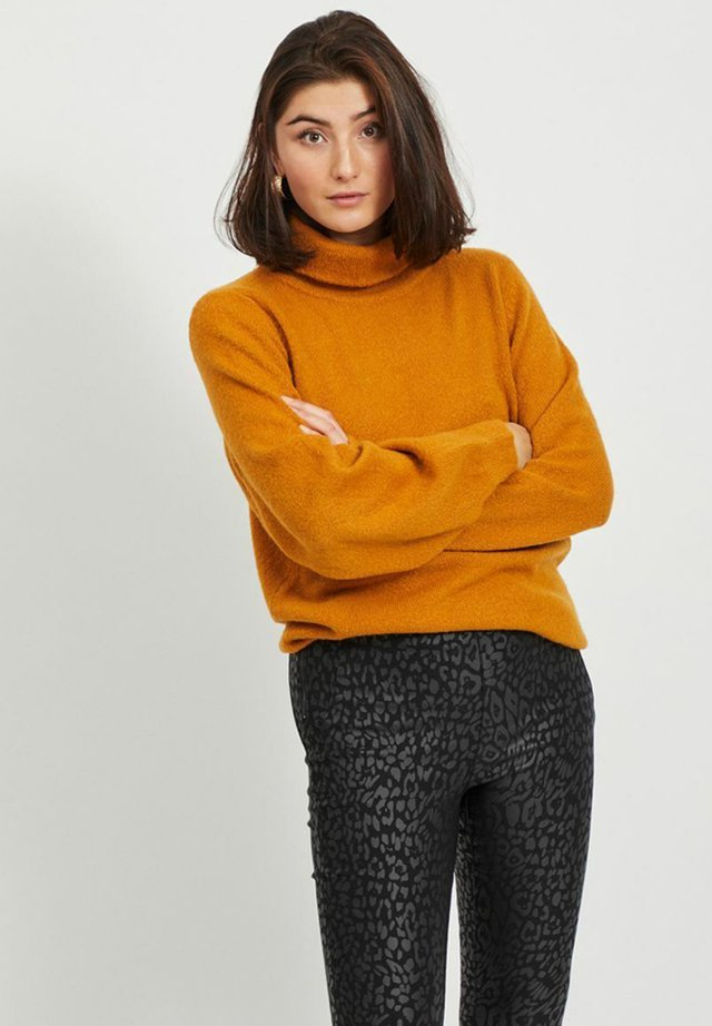 OBJEVE NONSIA ROLLNECK - Maglione - buckthorn brown