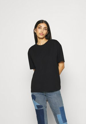 TOVI TEE - T-shirts med print - black dark