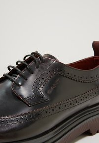 GANT - BEAUMONT - Lace-ups - port red - 5