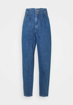 ONLPLEAT CARROW TALL - Jeans Skinny Fit - medium blue denim