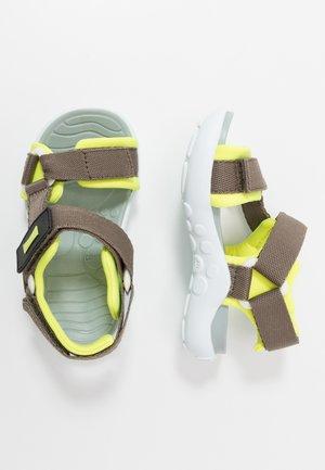 WOUS KIDS - Walking sandals - khaki